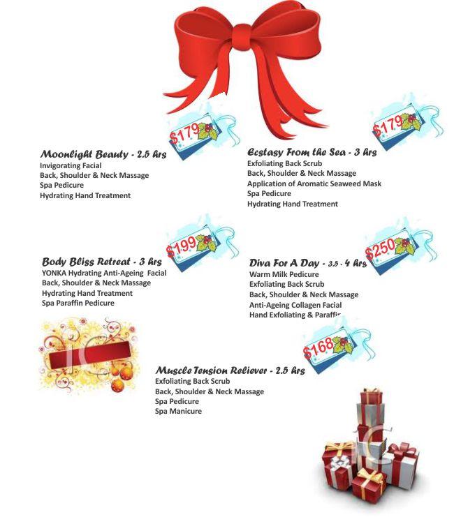 Deslava spa for 12 days of christmas salon specials